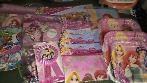 Princess birthday party supplies $25