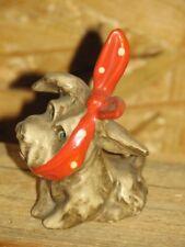 +*A015778_48, Goebel  Archiv Muster, Hund mit Binde  TMK1 Krone