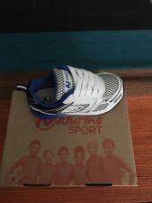 Naturino baby boy White/blue Sport 526 Sneaker Size 24 New