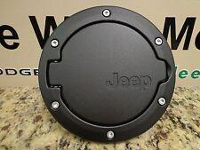 07-17 Jeep Wrangler New Fuel Filler Door Satin Black 2 Door Mopar Factory Oem