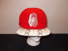 Last Kings Snakeskin Pattern strapback baseball hat sku14