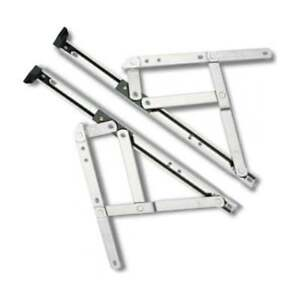 """UPVC Window Hinges Friction Stays. 8""""10""""12""""16""""20""""24"""" (One Pair)"""