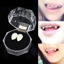 1 Pair Halloween Vampire Denture Zombie Teeth Small Tiger Teeth Cosplay MAK D7u1
