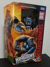 Transformers Kingdom Voyager War For Cybertron Optimus Primal