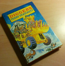 Terry Pratchett SIGNED Diggers 1st/1st edition UK Hardback 1990