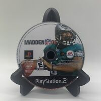 Madden NFL 06 PS2 Disc Only Tested Sony PlayStation 2 Ps2 Game Good Football