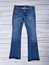 7 For All Mankind Women's A Pocket Jeans Size 27 (30 x 33.5) Medium Wash Denim