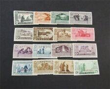 nystamps Italian Eritrea Stamp # 134-149 Mint OG H $39   F19x2998