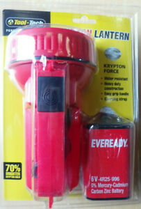 Hand Lantern / Torch, Krypton Tool -Tec Hand Lantern with Eveready Battery.