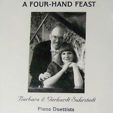 Barbara and Gerhardt SUHRSTEDT A Four Hand Feast CD Piano Duet Dvorak Debussy