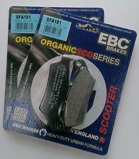 "Piaggio X9 250 (2004 / 14"" Wheels) EBC Organic FRONT Brake Pads (SFA181) 2 Sets"