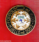 Spilla distintivo pin FOPPOLO M BELLO MONTE mt 2052 1600 sci vintage sky RARA