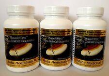 3 botellas GanoUltra Reishi, suplemento alimenticio, hongos/setas medicinales