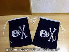 Fahnen Flagge Flaggenkette Pirat Augenklappe 6 Meter Lang