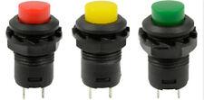 5X Technische Verriegelung Momentan EIN/AUS Taster Auto/Boot Schalter 12mm AA