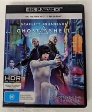 GHOST IN THE SHELL - 4K ULTRA HD + Blu-ray Region B oz seller DVD