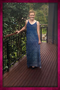 Maxi Dress Free Flowing, one size fits up to a Size 18