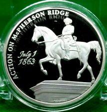 ACTION ON McPHERSON RIDGE COMMEMORATIVE COIN PROOF VALUE $79.95