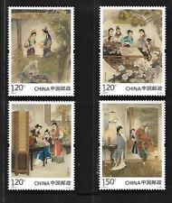 China 2018-8 Dream of Red Chamber Chinese Literature ( III ) 4V Stamp 紅樓夢