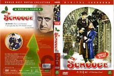 Scrooge, A Christmas Carol (1951)  - Brian Desmond Hurst, Alistair Sim  DVD NEW