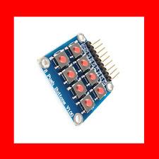 Matrix 8 Keypad Keyboard Board Module 2X8 Button Tactile Switch for Arduino