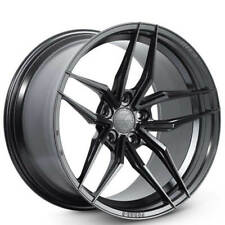 (4) 21x10.5 Ferrada Wheels F8-FR5 Matte Black Rims(S2)