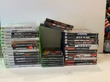 Lot Of 35 Video Games Xbox 360 Play Station PS 1 2 3 Excellent Condition All