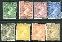 FALKLAND ISLANDS-1891-1902 A mounted mint set to 1/- Sg 17b-38