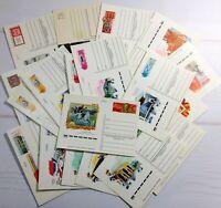 Postcards set 70-80s Soviet Vintage Postcard Lot Sports Olympics other 24 pcs