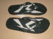sandals flip flops rusty surf black          8