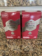 Lot of 2: Old Spice Clinical Sweat Defense Stronger Swagger Nib Expires 11/2022