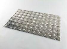 Alu-Riffelblech 5/6,5mm Aluminium Duett-Warzenblech