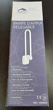 Barre d'appui relevable - Epoxy Blanc 60 cm PELLETS 048860