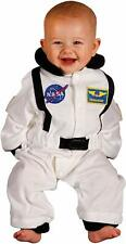 Aeromax Jr. Astronaut Suit With NASA patches and diaper snaps 6-12 Months(White)