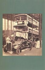 Nostalgia Postcard London Bus 1933 Reproduction Card NS34