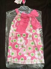 NWT Mud Pie Girls' Toddler Pink Lilly Pad Easter Spring Summer Party Dress 3T