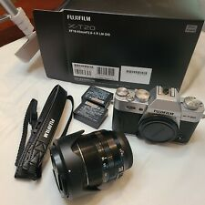 Fujifilm X-T20 16542622 mirrorless Digital Camera with 18-55mm Lens - Silver