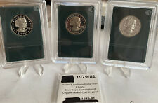 1979s,1980s,1981s,D-Cameo GEM Proof Susan B Anthony Dollar Type 1 or 2 ,See Pics