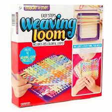 Weaving Loom 165 Colorful Craft Loops - Made by me Creative Art and Craft Gift