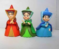Disney Sleeping Beauty Fairy Fairies Flora Fauna Merryweather Figure Cake Topper