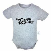 MY CHEMICAL ROMANCE Newborn Romper Baby Short Sleeve Jumpsuit Bodysuit Clothes