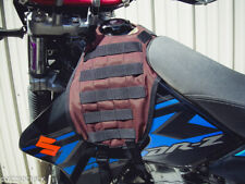 MOLLE Tactical Motorcycle Tank Cover Vest Panel Suzuki DRZ400SM PALS Hunting USA