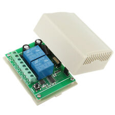 Wireless 433MHz 12V 10A 2CH Channel Switch Relay Module Remote Control Receiver