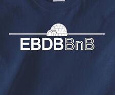 EBDBBnB logo T-Shirt from the LEAGUE tv show taco ebdb eskimo brother data base