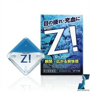 Rohto Z Cooling Eye Drops From JAPAN