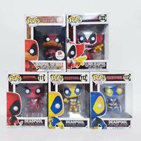 Marvel Deadpool Huge Funko Pop Vinyl 5 x Bundle Set #230 + #322 + #111 & #112