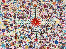 otomi fabric From Oaxaca Mexico