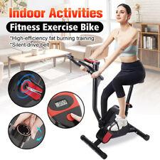 Foldable Aerobic Exercise Bike Set Cycling Trainer  Fitness Cardio Equipment US