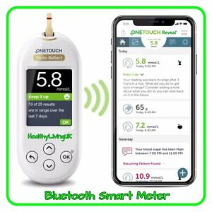 One Touch Verio Reflect Blood Glucose Meter/Monitor - Single Unit Meter -RRP £80