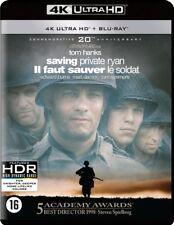Saving Private Ryan  (4K Ultra HD Blu-ray)+ blu-ray NIEUW NEU NEW NOUVEAU